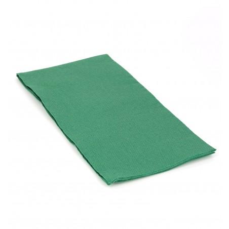 Serviette en papier 1/8 40X40 VERT (50 Unités)