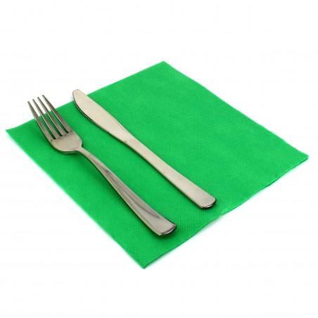 Serviette en Papier 40x40 Vert (50 Unités)