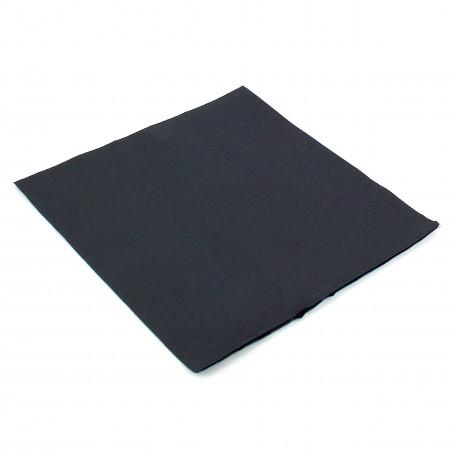 Serviette en papier UNIE 40X40 Noire (1.200 Unités)