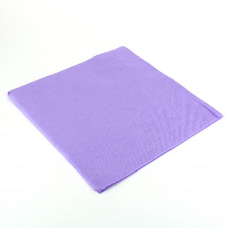 Serviette en papier UNIE 40X40 VIOLET(1.200 Utés)