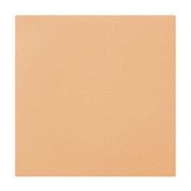 Serviette en papier Molletonnée 40X40 Saumon (1.200 Unités)