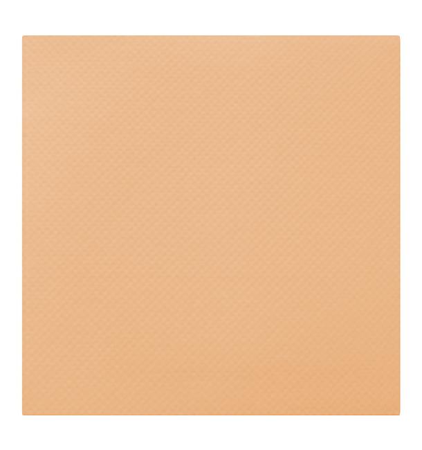 Serviette en papier Molletonnée 40X40 Saumon (50 Unités)