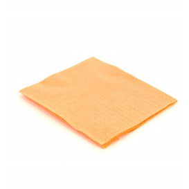 Serviette cocktail 20x20 Saumon (100 Unités)
