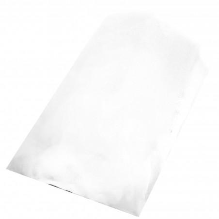 Sac Papier Blanc 14+7x24cm (250 Unités)