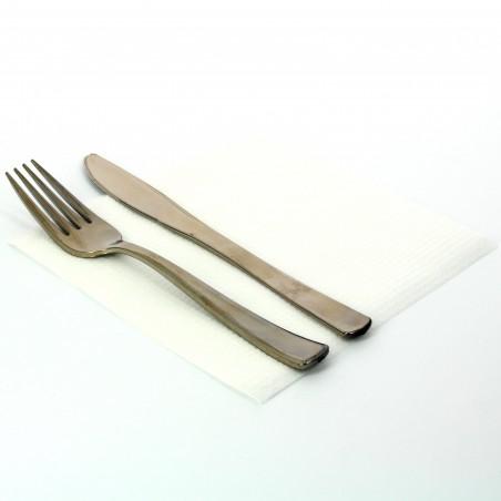 Serviette en Papier 33x33cm 1 épaisseur (100 Unités)
