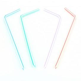 Pailles Flexibles Emballées Individuellement Ø5mm 23cm (10.000 Utés)