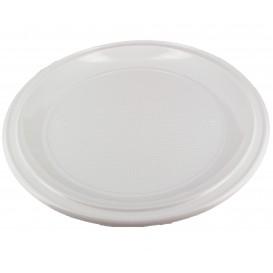 Assiette Plastique à Pizza PS Blanche 280mm (100 Unités)
