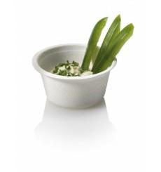 Pot Bio à Sauce en Canne à Sucre Blanc 55ml (1000 Utés)
