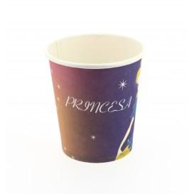 Verre carton princesse 200ml (25 Unités)