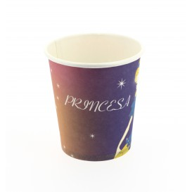 Verre carton princesse 200ml (500 Unités)