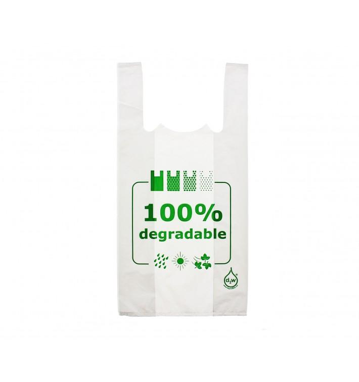 Sac à Bretelles 100% Dégradable 40x60cm (200 Utés)