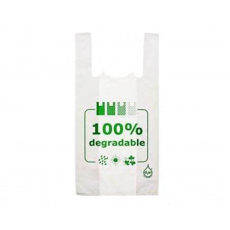 Sac à Bretelles 100% Dégradable 40x60cm (200 Utes)