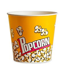 Etuis à Pop-Corn 1380ml 12,4x9x17cm (500 unités)
