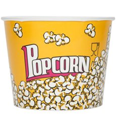 Etuis à Pop-Corn 5400ml 22.5x16x21cm (25 unités)