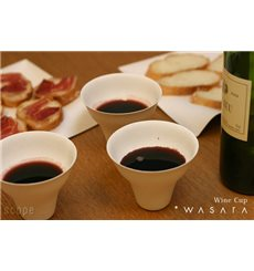 Gobelet Wine Cup Wasara Biodégradable 260 ml (50 Unités)