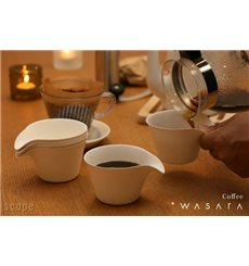 Gobelet Coffee Cup Wasara Biodégradable 150 ml (200 Unités)