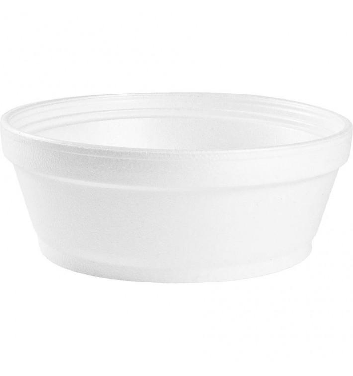 Pot en Foam Blanc 8OZ/240 ml Ø8,9cm (50 Unités)