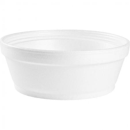Pot de Foam Blanc 8OZ/240 ml (50 Unités)