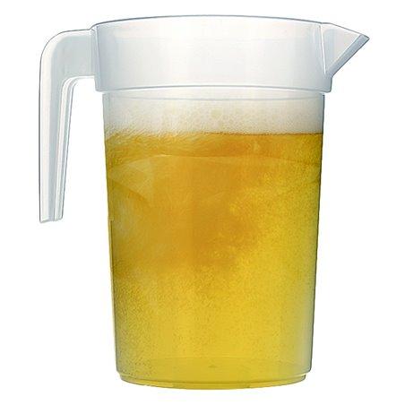 """Carafe d'eau plastique de 1l """"Incassable"""" ( 60 Unités)"""