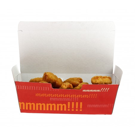 Boîte pour repas à emporter 16,5x7,5x6cm  (50 Utés)