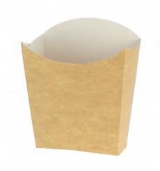 Etui à Frites Kraft Petit 8,2x2,2x9cm (25 Unités)