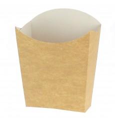 Etui à Frites Kraft Moyen 8,2x3,5x12,5cm (25 Unités)