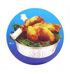 Couvercle Carton Récipient Rond  poulet 1900ml (500 Unités)