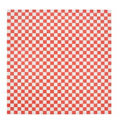 Papier Ingraissable Rouge 28x33cm (4000 Utés)
