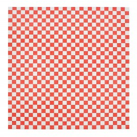 Papier Ingraissable Rouge 31x31cm (1000 Utés)