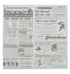 Papier Ingraissable Times 28x33cm (4000 Utés)