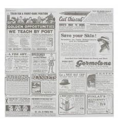 Papier Ingraissable Times 31x31cm (4000 Utés)