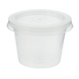 Pot à sauces en plastique avec COUVERCLE 33ml (3.000 Utés)