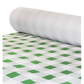 Nappe en papier en Rouleau Carré vert 1x100m 40g (1 Unité)