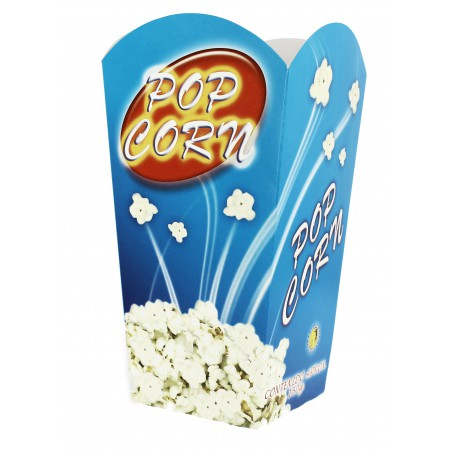 Etuis à Pop-Corn Grand 150g 8,7x13x20,3cm (50 Utés)