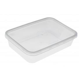 Barquette Plastique Transparent 500ml (500 Utés)