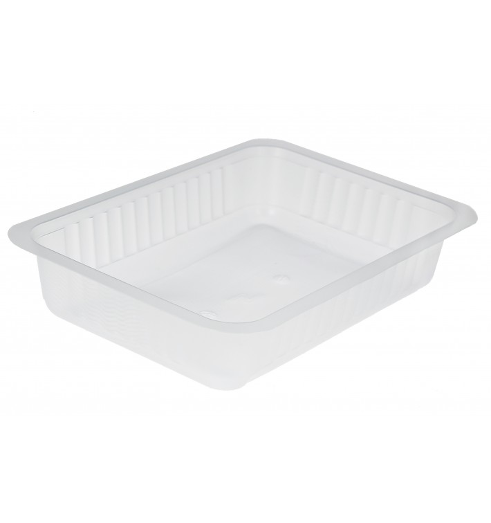 Barquette Plastique THERMO-SCELLABLE 750ml (800Utés)