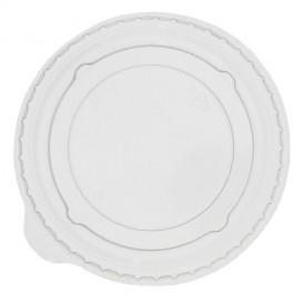 Couvercle Non Perforé pour Gobelet PET et PLA 265, 364, 425 et 550ml Ø9,5cm (100 Unités)