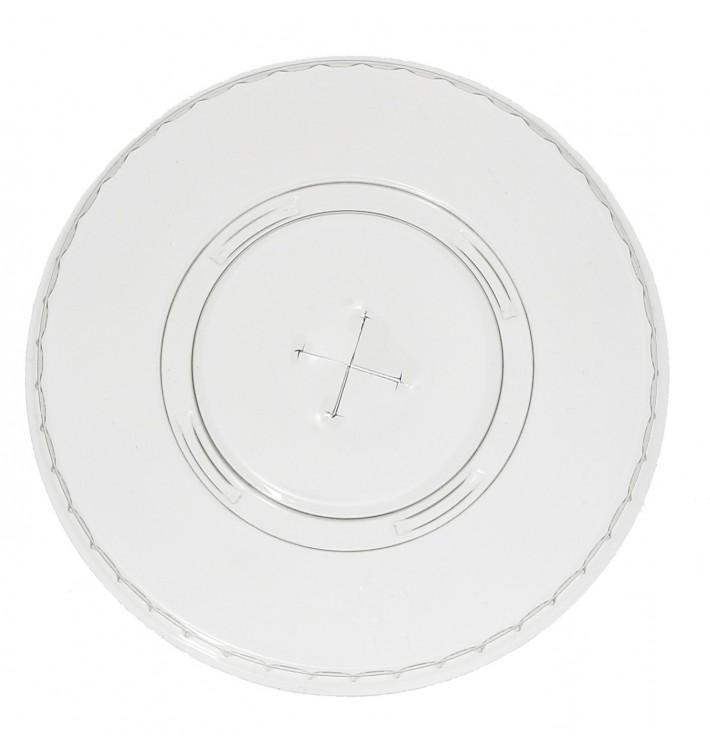 Couvercle Perforé pour Gobelet PET 545ml et 610ml Ø9,8cm (100 Unités)
