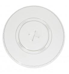 Couvercle Perforé pour Gobelet PET 420ml Ø9,3cm (100 Unités)