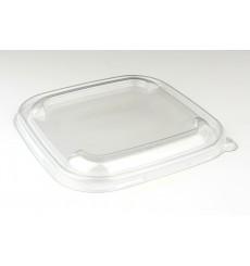 Couvercle Plastique PET pour Bol 170x170mm (50 Unités)