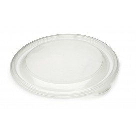 Couvercle en plastique Transp. Ø13cm (500 Unités)