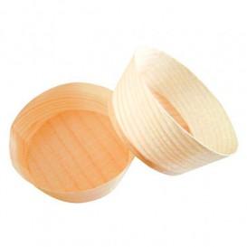 Verre Bambou Dégustation 5x2,2cm (100 Unités)