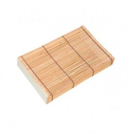 Boîte en Bambou Sushi 23x13x4,5cm (24 Uté.)