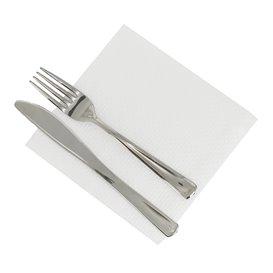Serviette Papier Blanc 33x33cm 1 épaisseur (4.800 Unités)