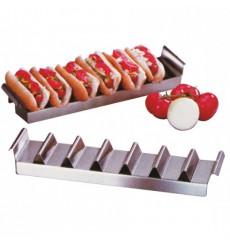Support pour Hot Dog en Acier 10,2x47,3 cm (24 Utés)