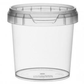 Pot en Plastique rond inviolable 155ml Ø6,9 (480 Unités)