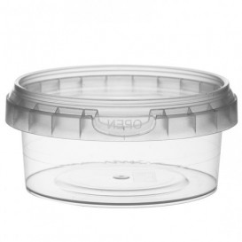 Pot en Plastique rond inviolable 180ml Ø9,5 (504 Unités)