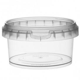 Pot en Plastique rond inviolable 210ml Ø9,5 (494 Unités)