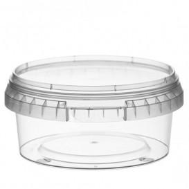 Pot en Plastique rond inviolable 300ml Ø11,8 (374 Unités)