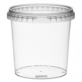 Pot en Plastique rond inviolable 1180ml Ø13,3 (180 Unités)